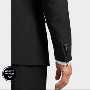 Calvin Klein Suits & Blazers - Calvin Klein X-Fit Black Slim Fit Tuxedo Jacket